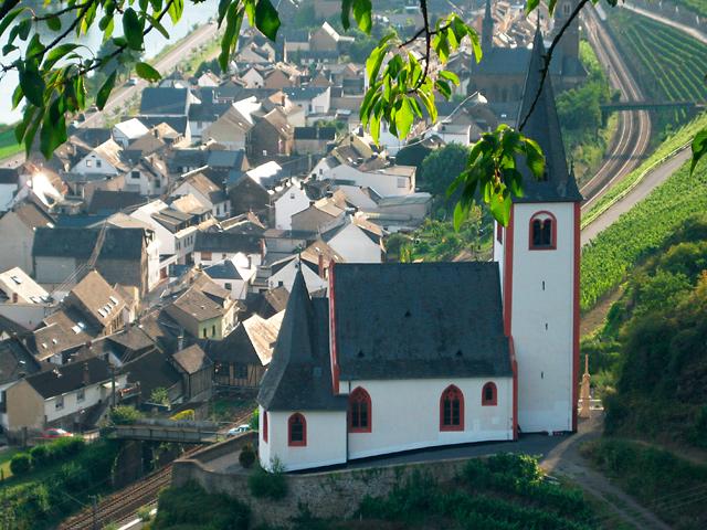 Blick von Rabenlay auf St. Johanneskirche